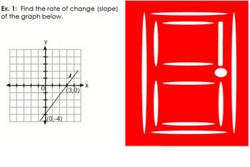 LONG HAUL: Algebra 2 Slope Linear Smartboard #12