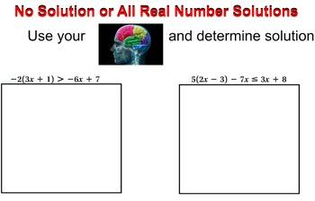 LONG HAUL: Algebra 2 Solving Inequalities Word Problems Smartboard #4