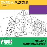 Algebra 2 Tarsia Puzzle Pack 1