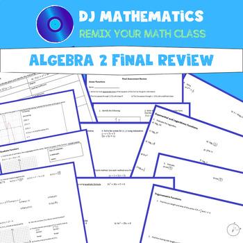 Algebra 2 & Trigonometry Final Exam Review