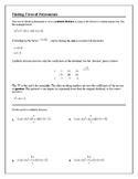 Algebra 2 Tutorial & Worksheets: Finding Zeros of Polynomials