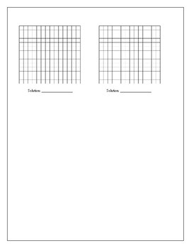 Algebra Tutorial & Worksheets: Solving Systems of Equations by Graphing