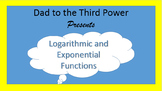 Algebra 2 Unit on Logarithms and exponential equations with power point lessons