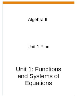 Algebra 2 curriculum guide with common core standards
