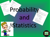 Algebra 2 unit on probability and statistics