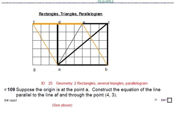 HS Algebra 2A UNIT 2: Parallel & Perpendicular Lines (5 wrkshts;7 quizzes)
