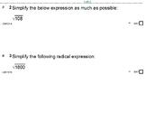 HS Algebra 2B UNIT 3: Rational Exponents; Radicals (5 wrkshts;7 quizzes)