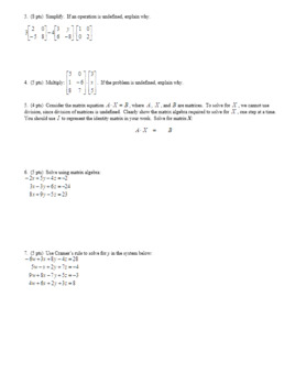 Algebra 2H 4.13 Group Practice Test Unit 4 Spring 2017 (Editable)