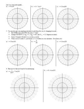 Algebra 2H 5.16 The Polar Coordinate System Spring 2017 (Editable)