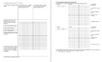 Algebra 2H 7.08 Graphing the Hyperbola Spring 2017 (Editable)