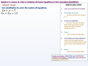 Algebra 2_ CU 1_ 8.1 Day 2: Systems of Linear Equations in Two Variables