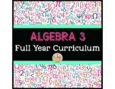Algebra 3 Full Year Curriculum