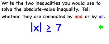 Absolute-Value Inequalities