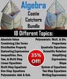 Algebra 1 Activities/ Review Games Bundle