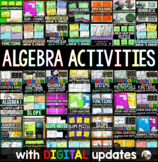 Algebra Activities Bundle