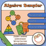 Algebra Activity Sampler