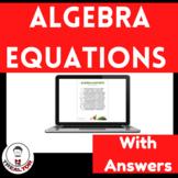 Algebra|Algebraic Expression| Translating Word Problems: G