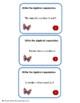 Algebra:   Algebraic Expressions Task Cards & Worksheets G