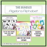 Algebra Alphabet Poster Bundle