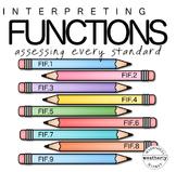 FUNCTIONS Interpreting Functions TEST PREP
