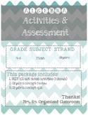 Algebra Assessment - BEDMAS/GUESS & CHECK/BALANCING