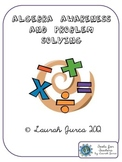 Algebra Awareness and Problem Solving Activity Pack