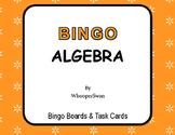 Algebra - BINGO and Task Cards
