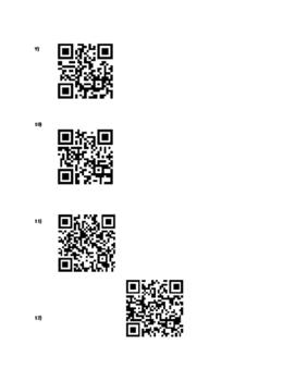 Algebra Basics QR Code Review