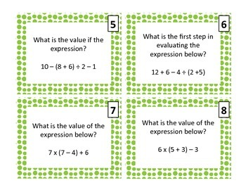 Algebra Basics Review