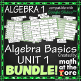 Algebra Basics - Unit 1 - BUNDLE for Google Slides™