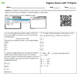 Algebra Basics with TI-Nspire