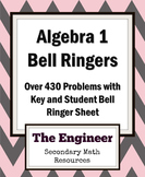 Algebra Bell Ringer / Do Now / Warm Up Packet (over 430 Problems)