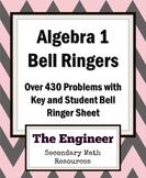 Algebra Bell Ringer / Do Now / Warm Up Packet (over 430 Problems)
