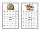 Algebra Bingo-Solving Equations -All 4 Operations-Christmas Theme
