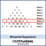 Algebra: Binomial Expansion / Theorem (+ resources)