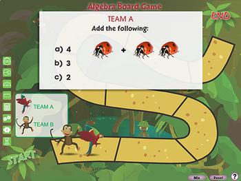 Algebra: Board Game - MAC Gr. PK-2
