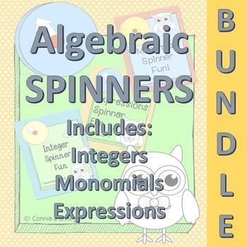Algebra Bundle - Integers, Expressions and Monomials - Hands On Practice