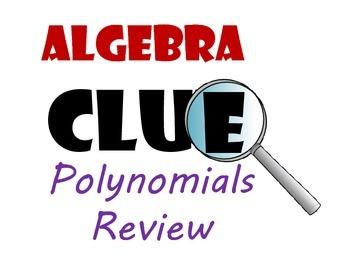 Algebra CLUE  Polynomials