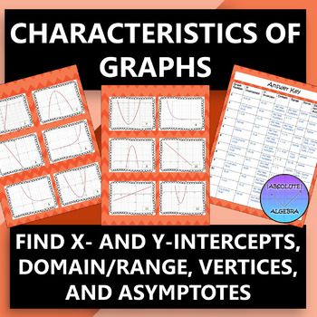 Algebra Characteristics of Graphs