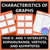 Characteristics of Graphs...Linear, Quadratic, Exponential