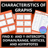 Characteristics of Graphs...Linear, Quadratic, Exponential
