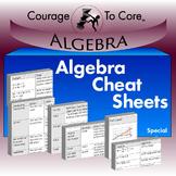 Algebra Cheat Sheets
