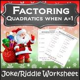 Christmas Algebra 1 and 2 Activitities {Algebra Christmas Activity}
