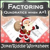 Algebra Christmas Activity {Algebra Christmas} {Christmas Algebra 1 Activities}