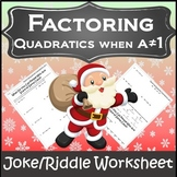 Algebra Christmas Activity {Algebra Christmas} {Christmas Algebra 1 Activities}