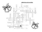 Algebra Christmas Crossword Puzzle
