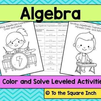 Algebra Color and Solve