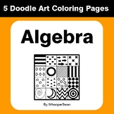 Algebra - Coloring Pages | Doodle Art Math