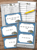 Algebra Task Cards, Combining Like Terms Activity 6th 7th Grade Algebra 1 review