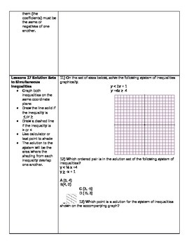 Algebra Common Core Module 1